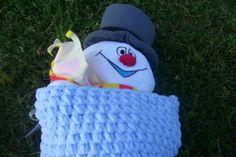 Infant Crocheted Sleep Sack by CrazyLeggies on Etsy, $20.00