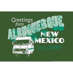 BREAKING BAD Greetings From Albuquerque Poster