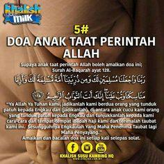 Untuk saudara dan anak2 ku... Doa Islam, Islam Quran, Doa Ibu, Pray Quotes, Muslim Quotes, Islamic Quotes, Learn Islam, Islamic Teachings, Islamic Messages