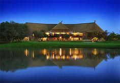 Nestling in the scenic Waterberg Mountains close to Bela-Bela, Warmbaths, the five star Itaga Luxury Private Game Lodge is in the greater Mabalingwe Reserve. Famous Golf Courses, Public Golf Courses, World Organizations, Coeur D Alene Resort, Golf Course Reviews, Game Lodge, Private Games, Top Destinations, South Africa