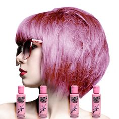 crazy color semi permanent hair dye 4 pack marshmallow - Crazy Color Pinkissimo