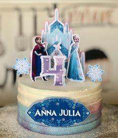 Bolo Frozen, Frozen Cake, Frozen Treats, Frozen Birthday Party, Frozen Party, Pastel Frozen, Sweet Corner, Fake Cake, Gourmet Desserts