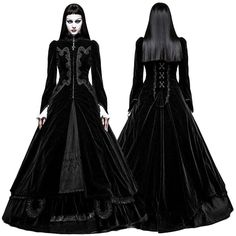 Punk Rave Black Vampire Queen Coat - £169.99 : Angel Clothing | Gothic and Steampunk Clothing