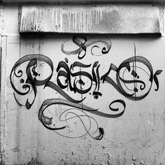RASKO calligraphy w/ Montana spider can Gravity Art, Old School Fashion, Graffiti Tagging, Boy Character, Street Culture, Typography, Lettering, Yesterday And Today, Caligraphy