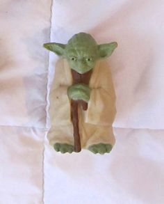 Yoda Figure from 1996 in a grab-bag of other toys for 2.99 at Goodwill