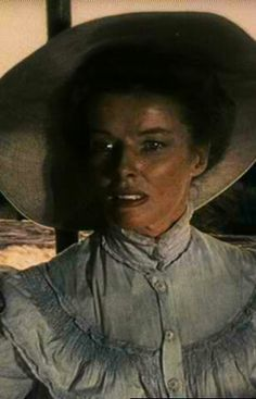 "[CAST] Katharine Hepburn: Katharine Houghton Hepburn (May 1907 – June as Rose Sayer in ""The African Queen"", age 44 Best Actress, Best Actor, John Huston, Katharine Hepburn, Divas, Indiana Jones, Pride And Prejudice, Great Movies, Duchess Of Cambridge"