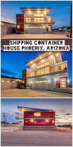 Produced using the a large number of surplus containers that sit on docks far and wide, shipping container homes are regularly adulated as an eco-accommodating and strong option in contrast to customary structure materials. Shipping Container Buildings, Sea Container Homes, Shipping Container Home Designs, Container Shop, Shipping Container House Plans, Building A Container Home, Storage Container Homes, Cargo Container, Container House Design