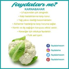 # benefits of cauliflower # benefits # harms - # Karnabaharınfayda of # Benefits # Losses Informations About - Beauty Detox, Health And Beauty, Health And Wellness, Health Fitness, Herbal Remedies, Health Remedies, Natural Remedies, Cauliflower Benefits, Detox Salad