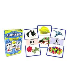 Look at this #zulilyfind! Alphabet Slide & Learn Flashcard Set #zulilyfinds