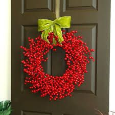 Image result for christmas wreaths for front door