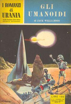 94  GLI UMANOIDI 1/9/1955  THE HUMANOIDS  Copertina di  C. Caesar   JACK WILLIAMSON