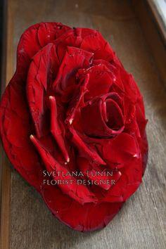 Wedding composite bouquet - rosamelia - designed by Svetlana Lunin.