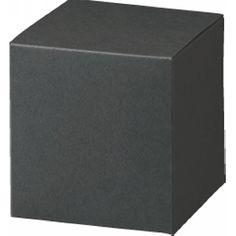 キューブカートン 黒 66×68×66: 中箱・カートン[包装資材のパッケージ通販]