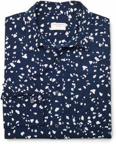 Club Monaco Slim-Fit Cheetah Print Shirt http://www.shopstyle.com/action/apiVisitRetailer?id=446051644&pid=uid8900-23292170-8