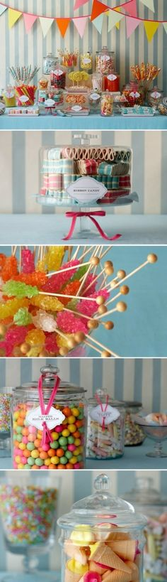 """This Candy Bar would be perfect for """"make your own"""" goodie bags to go! A great way to say """"thank you"""" for coming!"""