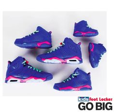 a04f335f84b358 The Air Jordan Retro released March Remember when nicki had these on her  album cover. KIDS FOOT LOCKER ...