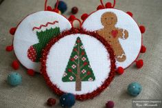 Christmas Crafts, Christmas Ornaments, Poinsettia, Handmade Christmas, Burlap, Embroidery, Holiday Decor, Pattern, Google Search