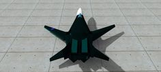 concept design retractable wing fighter aircraft