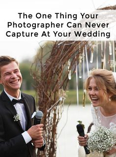 While your wedding photos will be great, there is one thing your photographer just can't capture. Be sure to find out why 98% of brides recommend including this for your wedding.