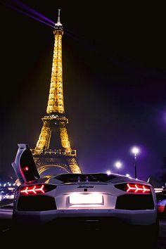 Lamborghini in Paris