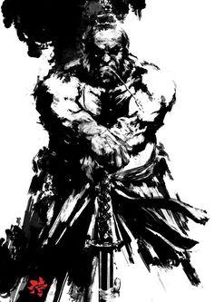 Resultado de imagen de japan samurai ink -tattoo