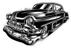 Hotrod Hellcat Designs on Illustration Served