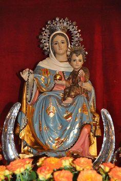 Ea! pues Señora,abogada nuestra vuelve a nosotros esos tus ojos misericordiosos #NtraSradelRosario #VirgendelRosario