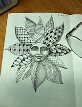 Image result for zentangle composition