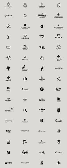 Logos in Black on Behance