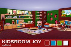 Kids Room Joy at pqSims4 • Sims 4 Updates