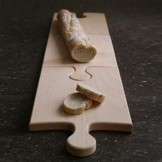 <3 puzzle cutting board