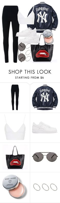 """Untitled #4880"" by olivia-mr ❤ liked on Polyvore featuring Givenchy, Supreme, Rare London, NIKE, RED Valentino, Seafolly, Bobbi Brown Cosmetics and ASOS"