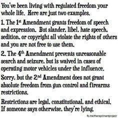 regulated freedom