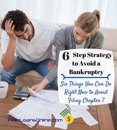 Filing bankruptcy can destroy your financial life for years. Use this six-step strategy to avoid bankruptcy and get back on track. Debt payoff ideas that work without setting you back.