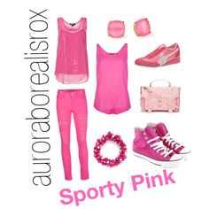 """Sporty pink."""