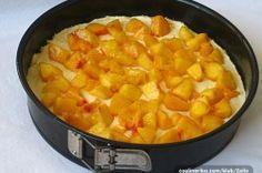 Fantastický ovocný koláček z tvarohového těsta   NejRecept.cz Fruit Salad, Sweet Potato, Cantaloupe, Macaroni And Cheese, Cheesecake, Deserts, Potatoes, Sweets, Vegetables