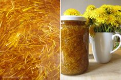 Löwenzahnhonig selbermachen // Making Dendelion honey