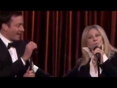 Jimmy Fallon & Barbra Streisand Sing Medley of Duetss