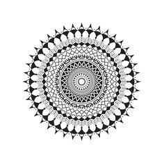 Cairo-based pattern artist Shayma Ezzeldin has created a set of 12 mandala designs, each having a different story to tell. Geometric Mandala Tattoo, Mandala Canvas, Mandala Artwork, Mandala Tattoo Design, Mens Full Sleeve Tattoo, Sleeve Tattoos, Mandala Art Lesson, Mandala Drawing, Mandala Printable
