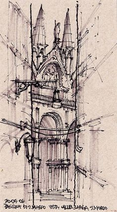 Become an Ambassador of #buildyful.com  to represent your #Architecture School in the world! See more details here: buff.ly/1xRomMd ~~Europe Sketchbook by Michel Stein Valente, via Behance