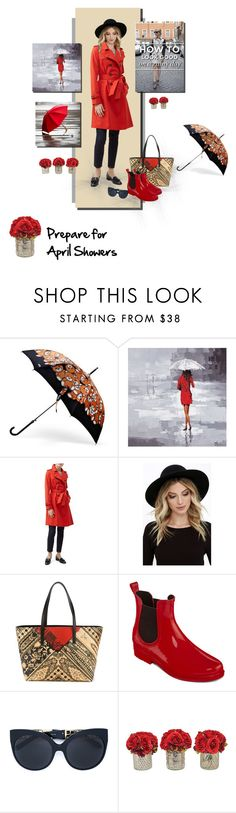 """""""April Showers"""" by fernshadowstudio-com ❤ liked on Polyvore featuring Ren-Wil, Hobbs, RHYTHM, Etro and Linda Farrow"""