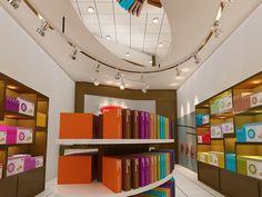 Frontier showroom design by us