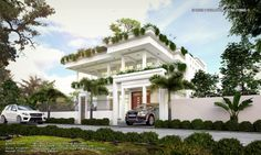 Modern House,location At Talawathugoda,Sri lanka 3d Scene made with sketchup vray and adobe photoshop