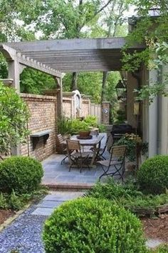 Beautiful small backyard landscape designs can be hard to achieve, as a small yard requires good space management. Gardening, decor and much more on hackthehut.com #LandscapingDesignIdeas #smallgardens