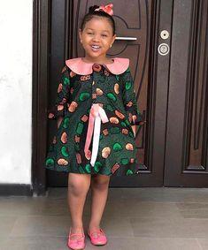 "Amazing Kids Clothing By ""Ms Izella Kids Couture"" ⋆ Whp-Media Girls Casual Dresses, Dresses Kids Girl, Kids Outfits Girls, Girl Outfits, Kids Girls, African Fashion Ankara, Latest African Fashion Dresses, African Print Fashion, African Prints"