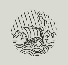 Norse Tattoo, Viking Tattoos, Armor Tattoo, Warrior Tattoos, Viking Ship Tattoo, Body Art Tattoos, Sleeve Tattoos, Cool Tattoos, 3d Tattoos