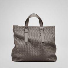 Bottega Veneta bags and Bottega Veneta handbags Bottega Veneta Steel  Intrecciato Light Calf Shopper II  427 36ef0b3ea6ddc