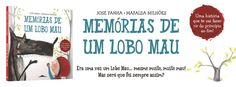 Sinfonia dos Livros: Novidade BookSmile   Memórias de Um Lobo Mau   Jos...