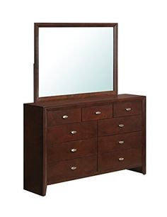 Special Offers - Global Furniture Carolina Dresser Cherry - In stock & Free Shipping. You can save more money! Check It (May 27 2016 at 09:01AM) >> http://jewelryarmoireusa.net/global-furniture-carolina-dresser-cherry/