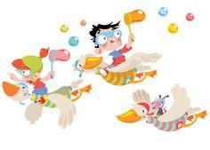 Vinilos Decorativos Infantiles: Mosu Stickers